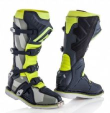 Adult Acerbis X-Pro V.Boots Grey/Yellow
